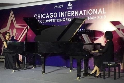 """Des concours de piano mondiaux """"debarquent"""" au Vietnam hinh anh 1"""