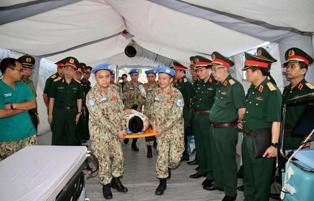 Le Vietnam participe activement a l'operation de maintien de la paix de l'ONU hinh anh 1
