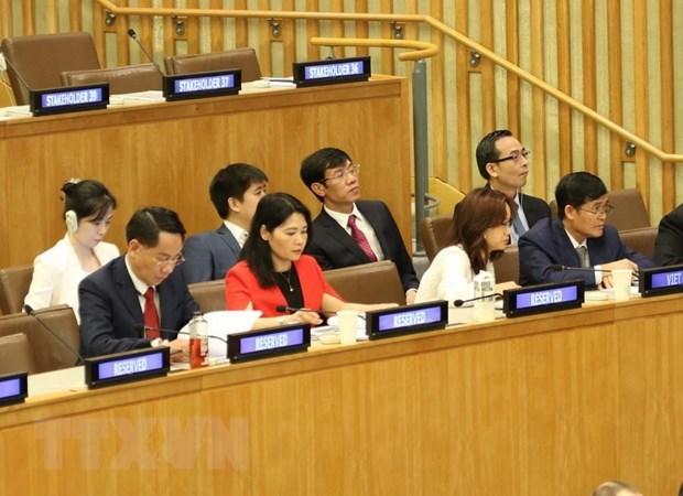 Le Vietnam participe a la reunion des responsables des institutions d'audit supreme a New York hinh anh 1