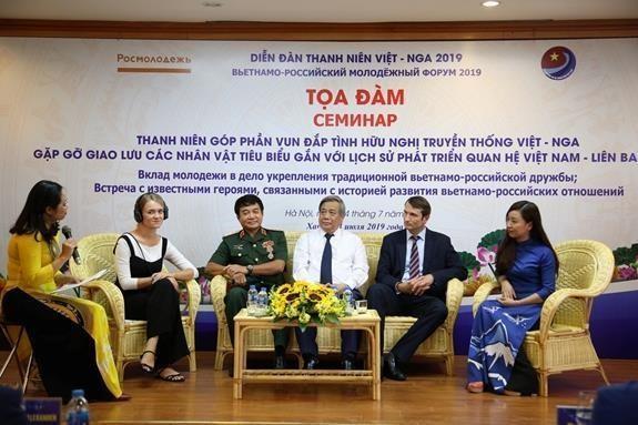 Un seminaire met en lumiere la contribution des jeunes aux relations Vietnam-Russie hinh anh 1