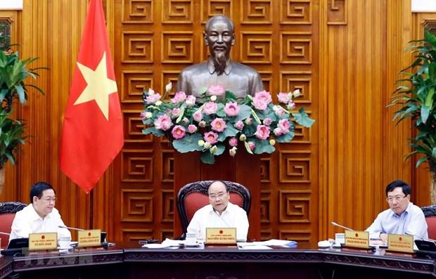 La permanence du gouvernement discute du developpement des zones economiques de pointe hinh anh 1