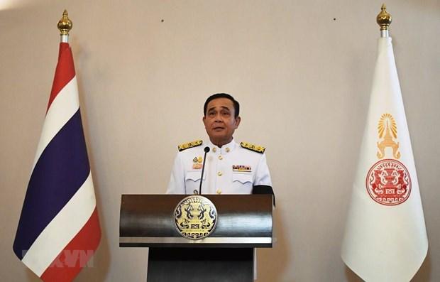 Le PM thailandais presente la politique gouvernementale au parlement hinh anh 1