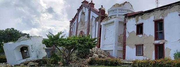 Au moins cinq morts lors de deux seismes successifs aux Philippines hinh anh 1