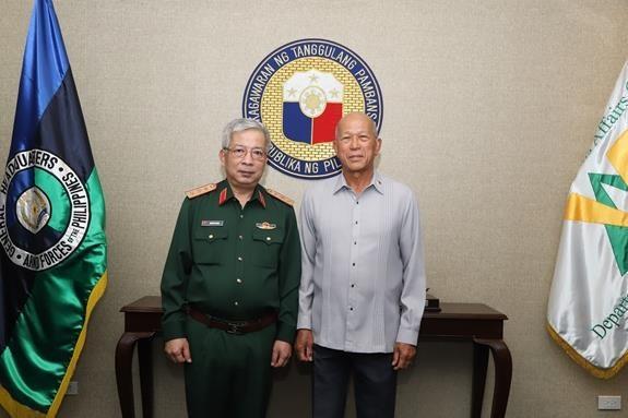 Vietnam - Philippines : dialogue sur la politique de defense hinh anh 1