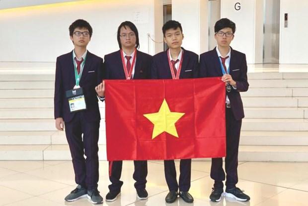 Olympiades internationales d'informatique: deux medailles d'or pour le Vietnam hinh anh 1