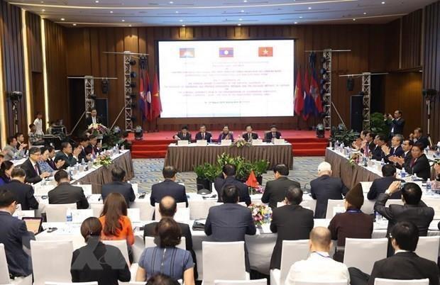 Vietnam, Laos et Cambodge souhaitent promouvoir l'efficacite du triangle de developpement hinh anh 1
