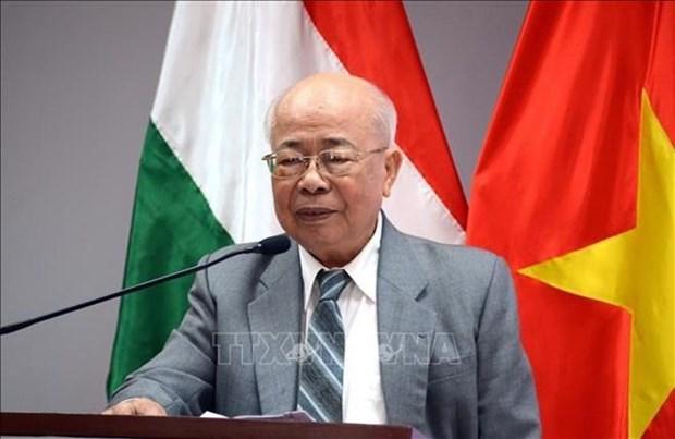 La fete nationale de la Hongrie celebree a Ho Chi Minh-Ville hinh anh 1