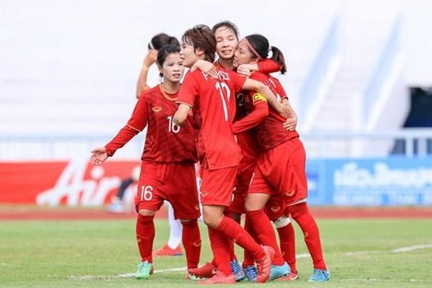Vietnam, champion de football feminin de l'Asie du Sud-Est 2019 hinh anh 1