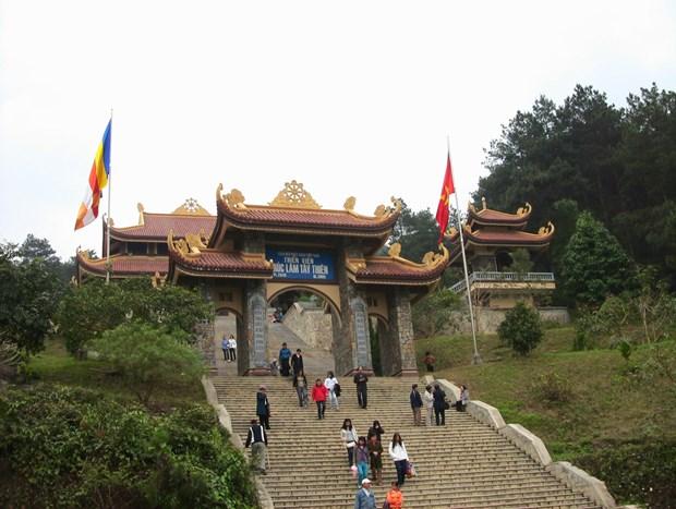 Le monastere zen Truc Lam Tay Thien dans la province de Vinh Phuc hinh anh 1