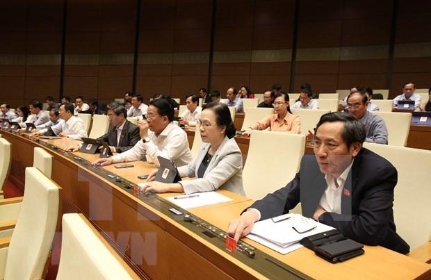 AN : les deputes discuteront le 22 novembre des projets de loi et du personnel hinh anh 1