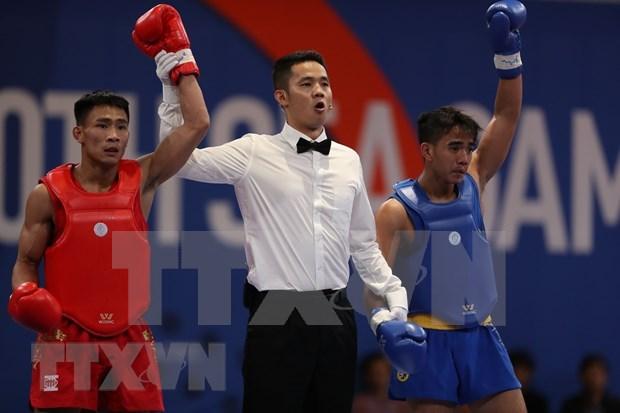 SEA Games 30: cinq medailles d'or supplementaires pour le Vietnam lors de la 3e journee hinh anh 1