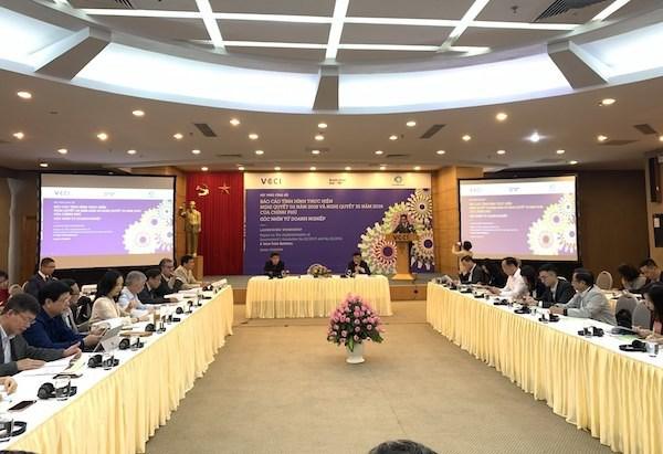 Conference : pour un million d'entreprises vietnamiennes en 2020 hinh anh 1