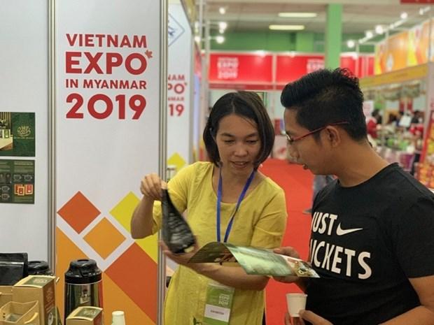 Renforcement de la presence des marchandises du Vietnam au Myanmar hinh anh 1