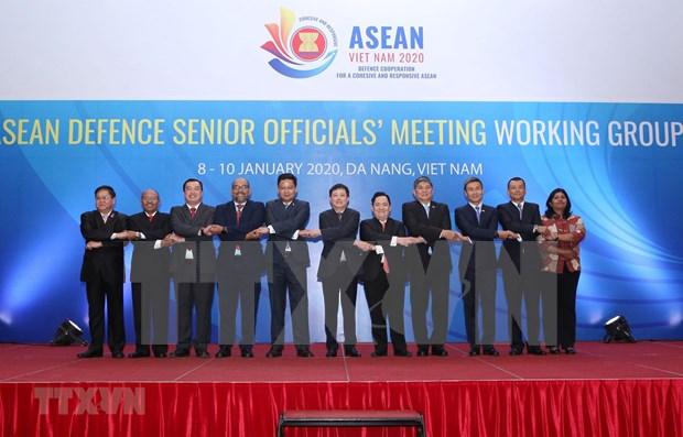 Ouverture de la reunion du groupe de travail SOM de la defense de l'ASEAN hinh anh 1