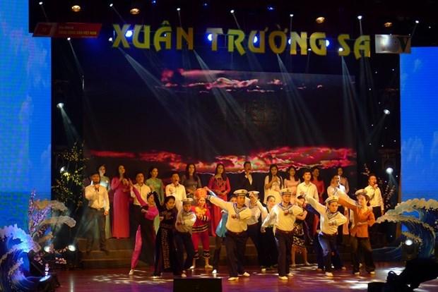 Programme artistique «Printemps a Truong Sa 2020» a Hanoi hinh anh 1