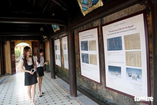 Hue: exposition sur le Nouvel An lunaire sous la dynastie des Nguyen hinh anh 1