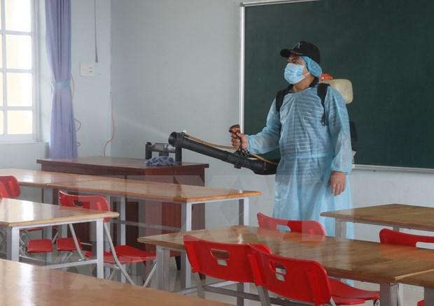 Des localites vietnamiennes suspendent les activites scolaires pour le coronavirus hinh anh 1