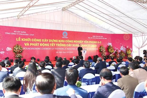 Immobilier industriel: lancement d'un projet de milliers de milliards de dongs a Bac Ninh hinh anh 1