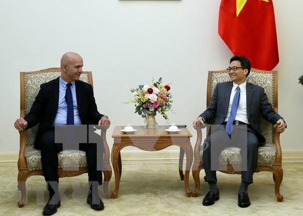 Le vice-PM Vu Duc Dam recoit le secretaire general de l'AISS hinh anh 1