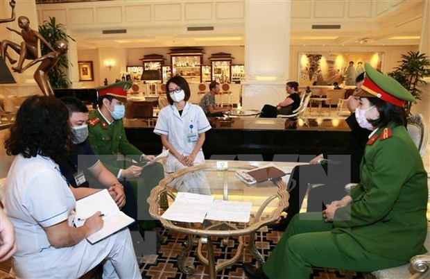 COVID-19 : Hanoi poursuit son travail preventif et de lutte contre le SARS-CoV-2 hinh anh 1