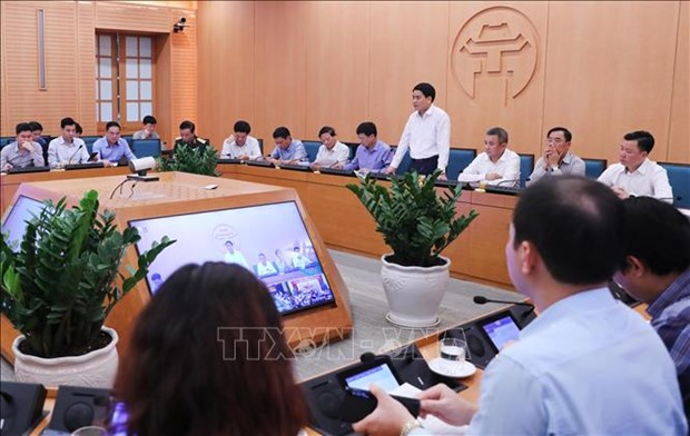 Hanoi: se preparer a toute possibilite de flambee des cas de COVID-19 hinh anh 1