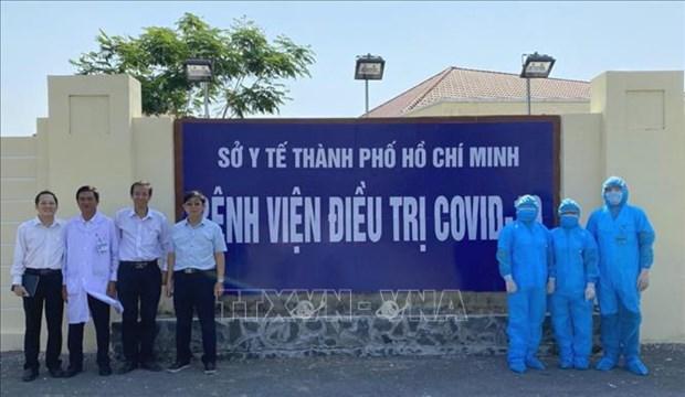 Mise en service d'un 2e hopital specialise dans le traitement au COVID-19 a HCM-Ville hinh anh 1