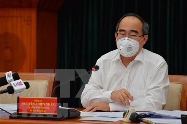 Ho Chi Minh-Ville evalue la situation socio-economique au premier trimestre de 2020 hinh anh 1