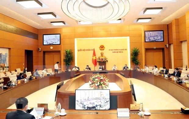 Ouverture de la 44e session du comite permanent de l'Assemblee nationale  hinh anh 1