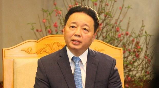 """Le ministre Tran Hong Ha: """"Determiner la direction de la protection de l'environnement"""" hinh anh 1"""
