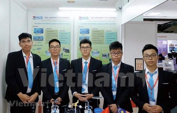 Des etudiants vietnamiens remportent le prix international de l'innovation en Malaisie hinh anh 1