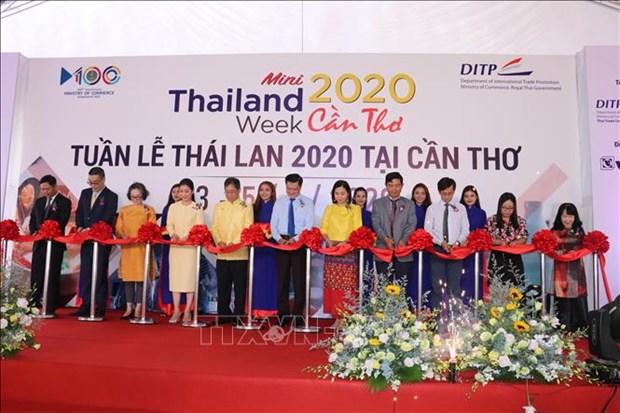 Ouverture de la semaine des produits thailandais a Can Tho hinh anh 1