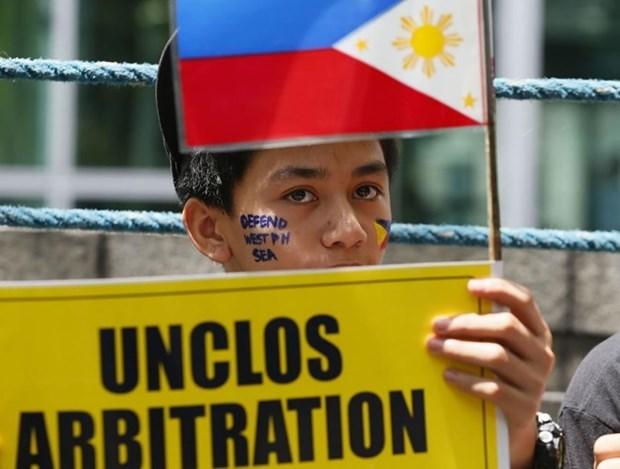 Les Philippines appelent la Chine a respecter la decision de la CPA sur la mer Orientale hinh anh 1