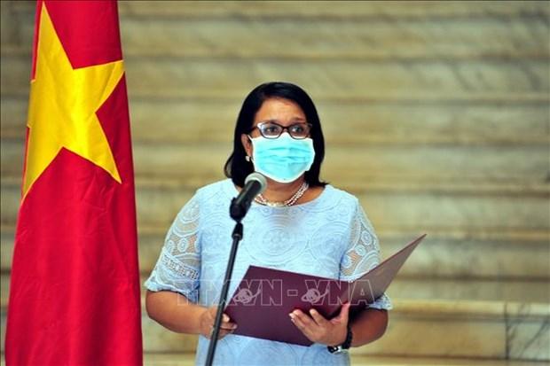 L'ambassadeur du Vietnam a Cuba a l'honneur hinh anh 1
