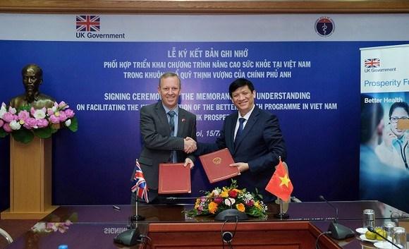Le Royaume-Uni soutient le programme d'amelioration de la sante au Vietnam hinh anh 1