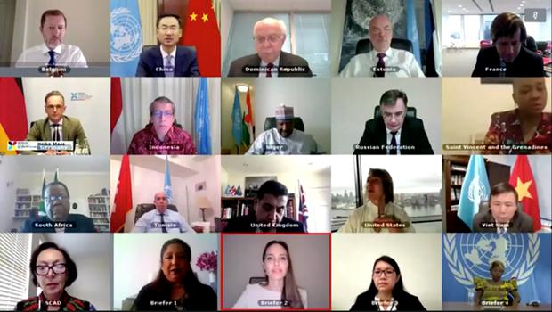 Le Conseil de securite de l'ONU discute des violences sexuelles liees aux conflits hinh anh 1