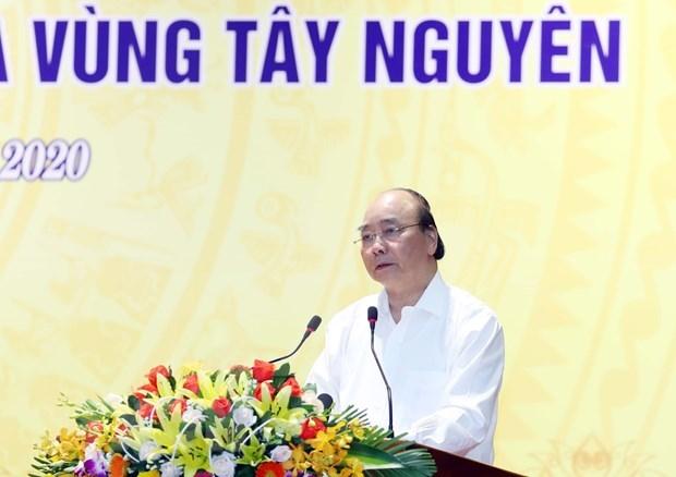 Le PM exhorte a accelerer le rythme de decaissement des investissements publics au Centre hinh anh 1