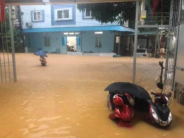 Crues : de lourds degats dans la province d'Ha Giang hinh anh 1