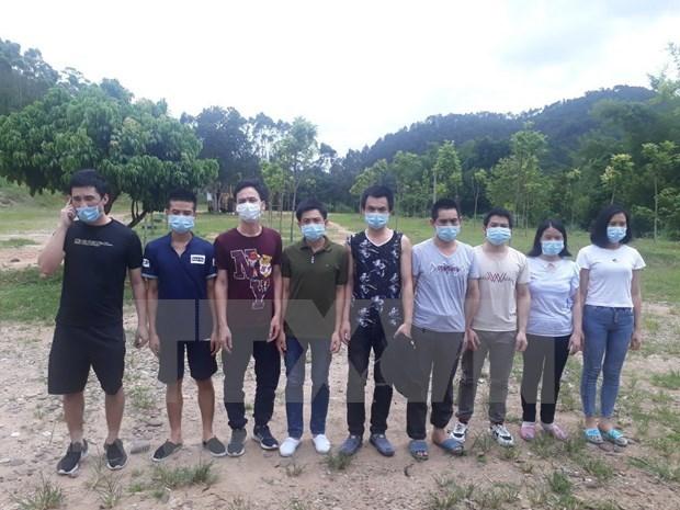 Arrestation de plusieurs personnes pour entree illegale au Vietnam hinh anh 1