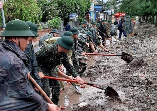 Les pluies torentielles causent de graves dommages dans les localites hinh anh 1