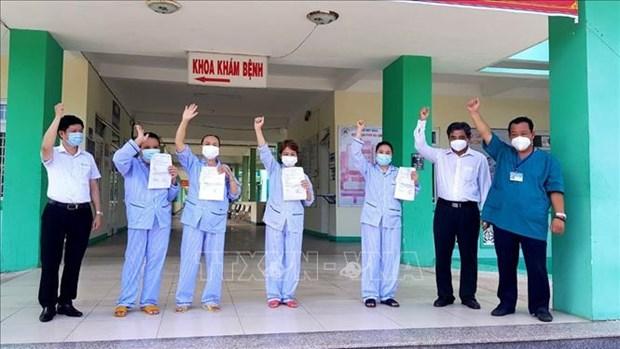 Quatre premiers cas de COVID-19 lies a l'epidemie a Da Nang gueris hinh anh 1