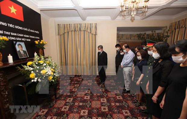 Ceremonies d'hommage a Le Kha Phieu a l'ONU, aux Etats-Unis et au Canada hinh anh 1