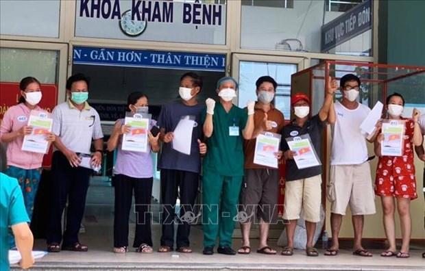 COVID-19 : dix nouveaux patients a Da Nang annonces gueris hinh anh 1