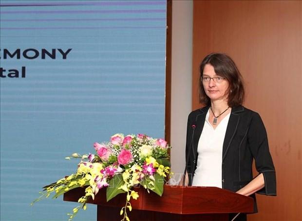 Inauguration du portail public du budget de l'Etat hinh anh 2