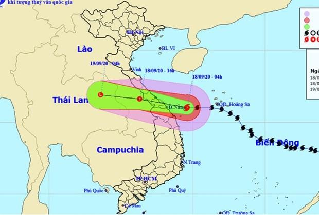 Le typhon Noul devrait toucher terre ce vendredi apres-midi hinh anh 1