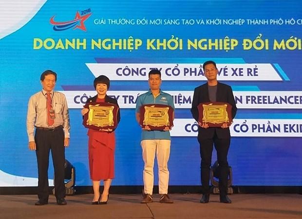 40 projets a la finale du prix de l'innovation creative et des start-up Ho Chi Minh-Ville hinh anh 1