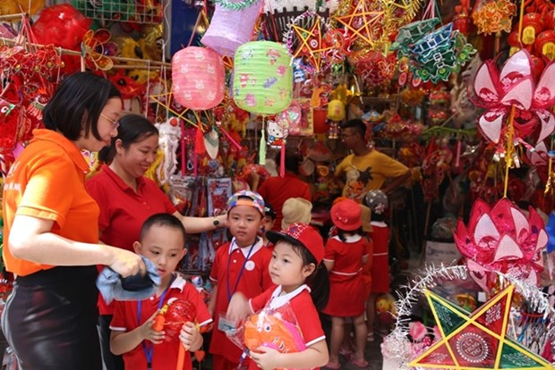 Fete de la mi-automne 2020: une ambiance festive attendue dans le Vieux quartier de Hanoi hinh anh 1