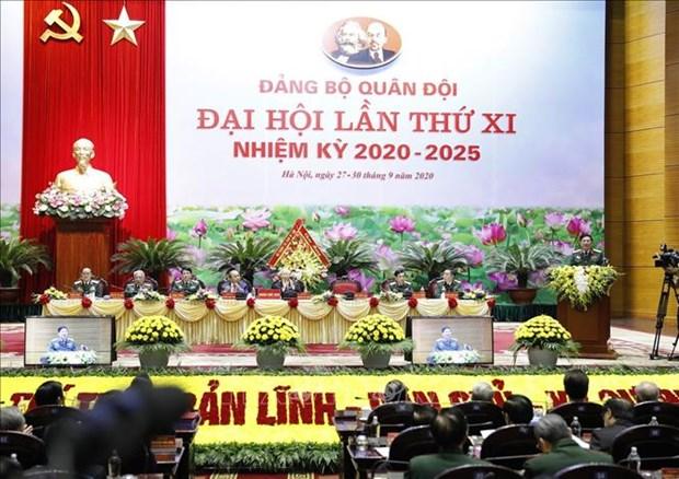 Ouverture du 11e Congres de l'Organisation du Parti de l'Armee populaire du Vietnam hinh anh 1