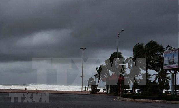 La tempete Molave frappera la cote du Centre le 28 octobre au matin hinh anh 1