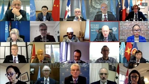 Le Vietnam exhorte la communaute internationale a aider la Syrie a faire face au COVID-19 hinh anh 1