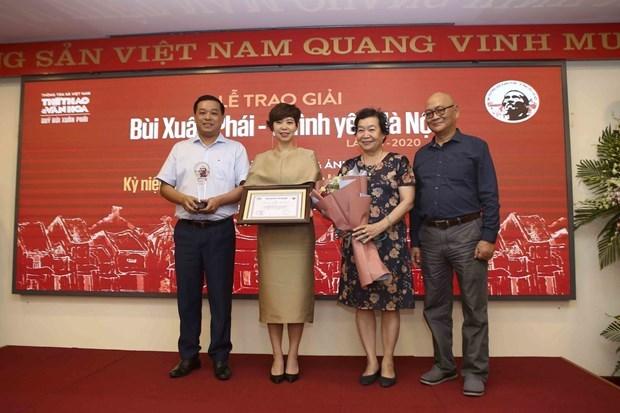 Le compositeur Phu Quang recoit le Grand Prix du Prix Bui Xuan Phai hinh anh 2
